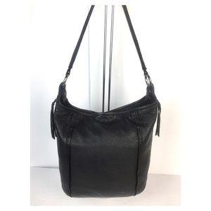 Stone Mountain Pebble Leather Bucket Bag